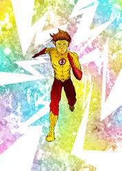 Kid Flash by wkong