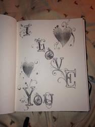 I love you by Puppypancake