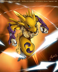 Renamon by Magolobo