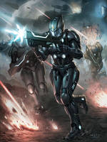 Applibot_Galaxy Saga_Commander by chrisnfy85