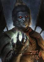 Monkey King Demon by chrisnfy85