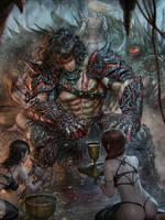 Black warrior regular by chrisnfy85