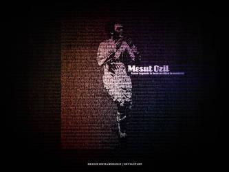 Mesut Ozil by hichamdesign