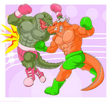 Side Punch by artographer-513