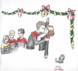 merry christmas trek club by istarwyn