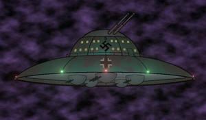 Nazi-Ufo by alreadybeenclaimed