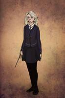 Luna Lovegood by ula387