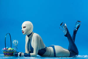 Heavy Rubber Lingerie by Ariane-Saint-Amour