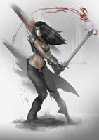 2-handed sword by fandygembuk