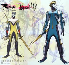 Rogue Impact:  Heff and Patro by Kerong