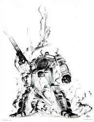 Optimus Prime by Kerong