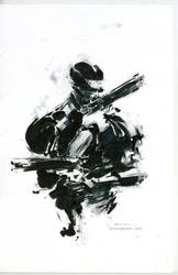 Robocop sketch by Kerong