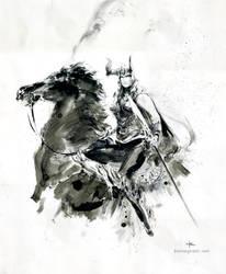 Viking Woman by Kerong