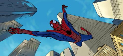 Spiderman by Kerong