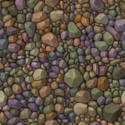 pebbles texture Tile by bananamannen