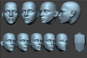 Head Practise 10 by HazardousArts