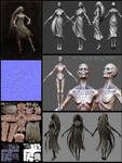 Ballerina Wraith Presentation by HazardousArts