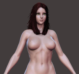Kingdom Death: Eve Face Mockup by HazardousArts