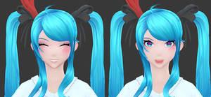 Hatsune Miku: Textures decals by HazardousArts