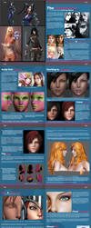Female Face Tutorial by HazardousArts
