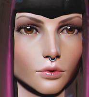 Random Face Sculpt by HazardousArts