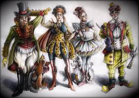 Jules Verne - Circus by iniminiemoo
