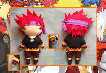 Inferno Plush Toy by extendedlimits