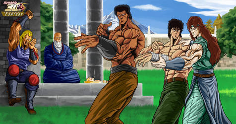 Hokuto No Ken - Before war, before hate... by Zer013