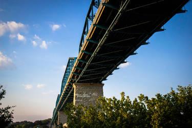 Walking Bridge by Radeker