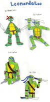 Turtle Gens: Leonardo by KessieLou