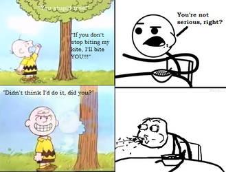 Charlie Brown Gets His Revenge by KessieLou