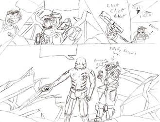 Comic Test: Halo Fanart by Skythe-Soulblade