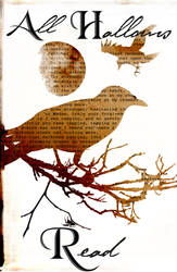 Raven All Hallows Read Poster by blablover5