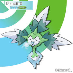 Fromint (fakemon)  by Charenel