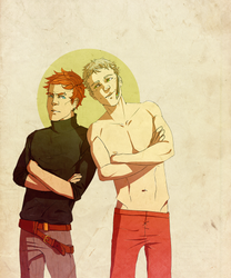 Samuel and Roy by ma-de