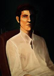 Portrait by ma-de