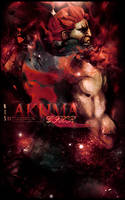 Akuma Vertical Tag by RodTheSecond