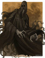 Monster May: Dementor by BeanyCoffee