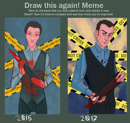 Draw this again Meme 2 by Endewald