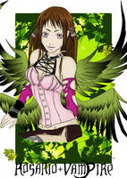 Rosario Vampire_Rubi by Alinthia