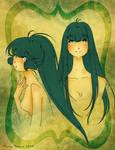 Hanako and Simone by AlyssaStehle