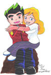 Jake and Rose by Dreamgirl2007