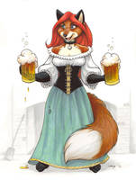 Beer Wench by Dustmeat