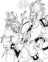 Moonstone's Trolls by Dustmeat