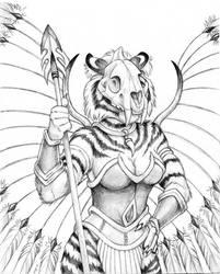 Teiirka Tigress by Dustmeat