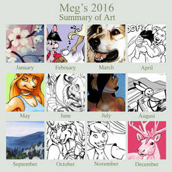 2016 Art Summary by Dustmeat