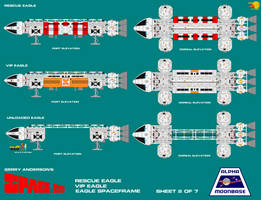 Gerry Andersons Space 1999 Eagle Transporter 2 of  by ArthurTwosheds