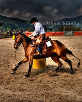 Barrel Racing by comtess