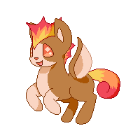 Fakemon sprite by Featherheartist