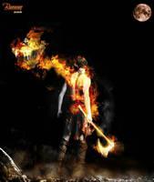 burning man  by IlouS